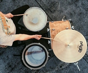 aesthetic and drums image