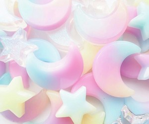 pastel, rainbow, and wallpaper image