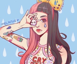 melanie martinez, cry baby, and fanart image