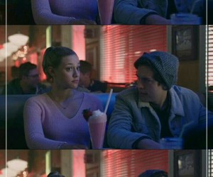 riverdale, bughead, and pops image