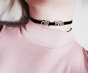 accessories, choker, and fashion image