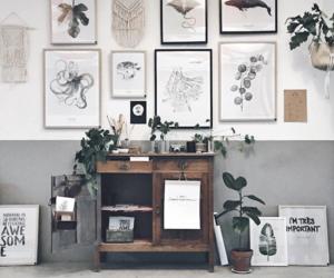 art, minimalist, and plants image