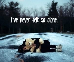 alone, quotes, and cold image