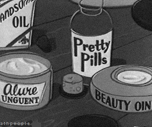 pills, pretty, and beauty image