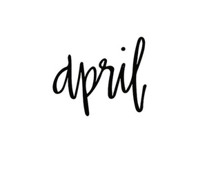 april, hello april, and april fools image