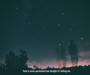 pain, quotes, and sky image