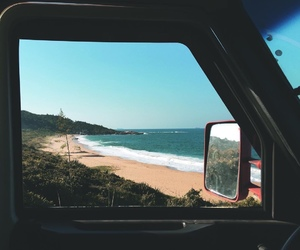 travel, beach, and summer image