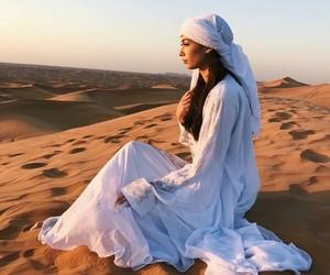 beauty, desert, and Dubai image