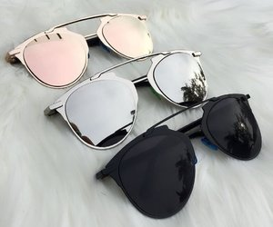 sunglasses, accessories, and black image