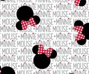 background, minnie mouse, and wallpaper image