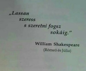 hungarian, romeo and juliet, and shakespeare image