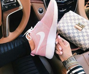 nike, fashion, and pink image