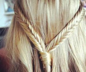 blonde and braids image