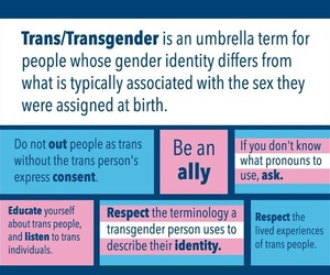 trans, Transgender, and trans rights image