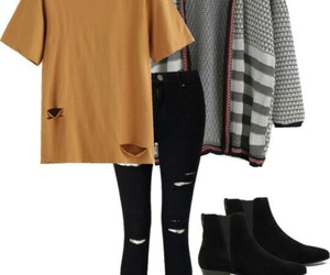 beautiful, grunge, and clothes image