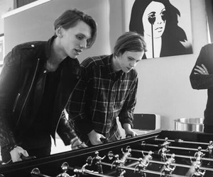 counterfeit, Jamie Campbell Bower, and rock image