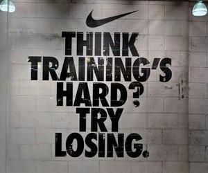nike, motivation, and training image