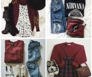 clothes, college, and outfits image