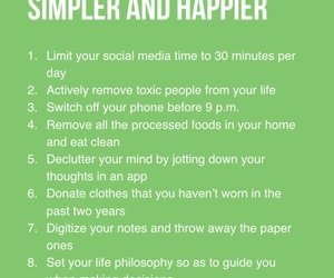 happy, simple, and life hacks image