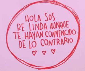 frases, linda, and español image