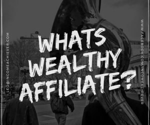 online business, affiliate marketing, and wealthy affiliate image