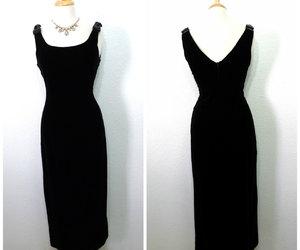 etsy, long dress, and sleeveless image