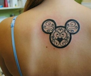 disney, tattoo, and ink image