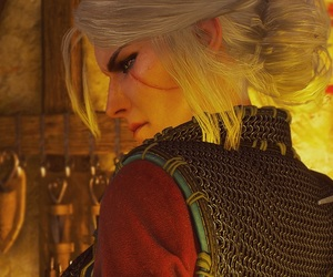 the witcher, ciri, and the witcher wild hunt image