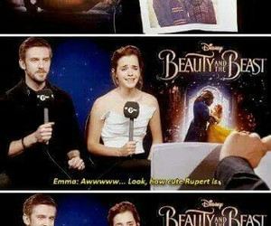 dan stevens, emma watson, and harry potter image