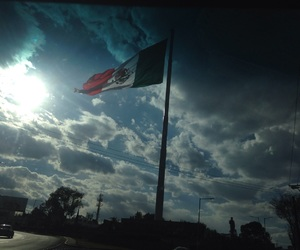beautiful, flag, and mexico image