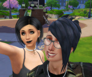 sims 4, sims 4 gameplay, and sims 4 roleplay image