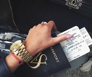 luxury, travel, and nails image