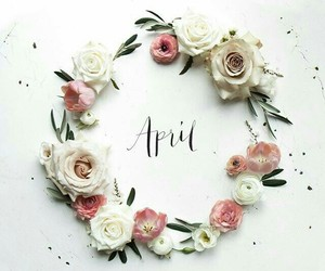 april, flowers, and cute image