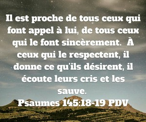 bible and francais image