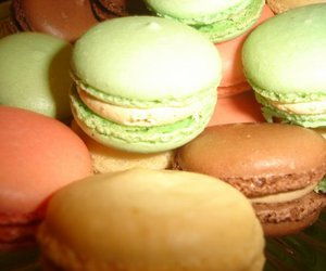 candies, macaroons, and colors image
