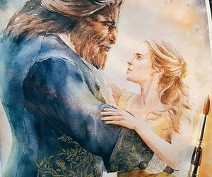 paint and the beauty and the beast image