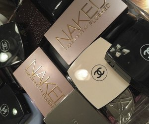 chanel, naked, and make up image