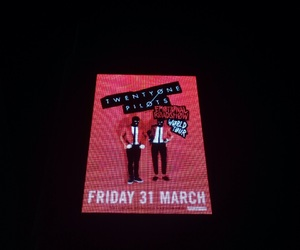 melbourne, twenty one pilots, and poster image