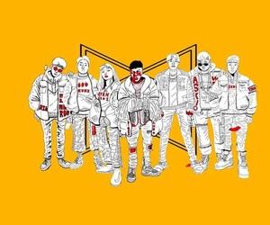 crew, grunge, and korean image