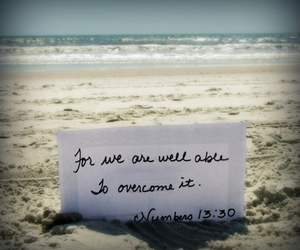 beach and quote image