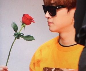 flowers, JB, and got7 image