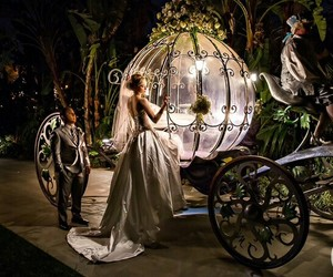cinderella, princess, and wedding image