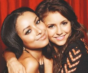 Nina Dobrev, kat graham, and the vampire diaries image