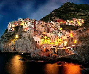italy, nature, and night image