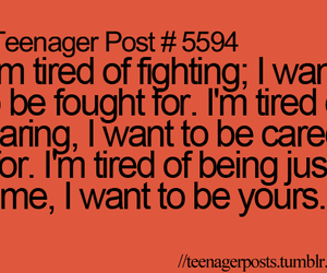 teenager post, yours, and quote image