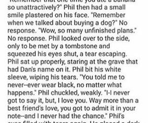 dan, sad, and phil image