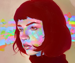 color and digital art image