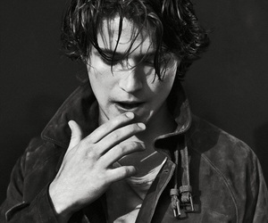 thomas mcdonell, the 100, and black and white image