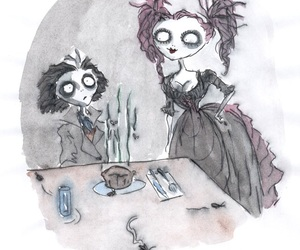 sweeney todd and tim burton image