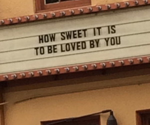 cinema, sweet, and letters image
